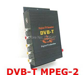 Landsounds Car Mobile DVB-T Receiver Digital TV BOX DVB-T Tuner  MPEG2