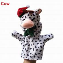 29Styles Plush Christams Animals Xmas Hand Puppets Stuffed Doll Glove-puppet Marionette Toys Talking Props For Kids Students(China (Mainland))