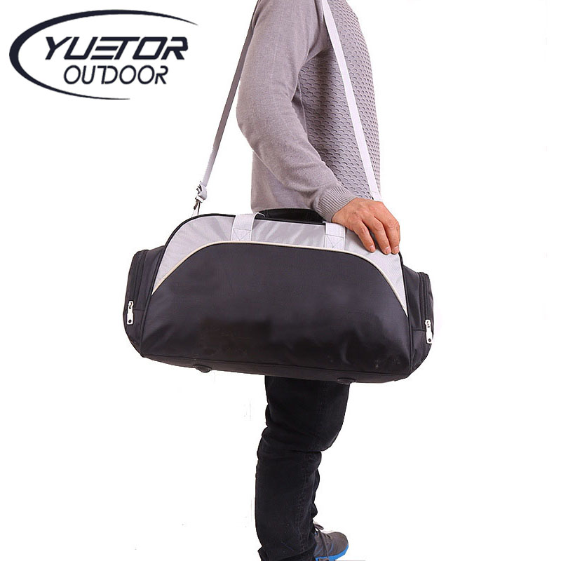 YUETOR Big Capacity Unisex Waterproof Nylon Outdoor Travel Duffle Sport Handbag Single Shoulder Fitness Bags Gym Bag Sports Bags(China (Mainland))