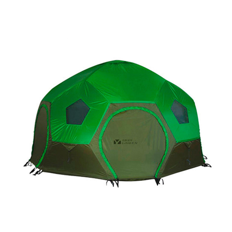 2016 Outdoor Portable Football Style Double Layer 1 Bedroom 8 Persons 3 Seasons Aviation Aluminum Rod Camping Hiking Tent(China (Mainland))