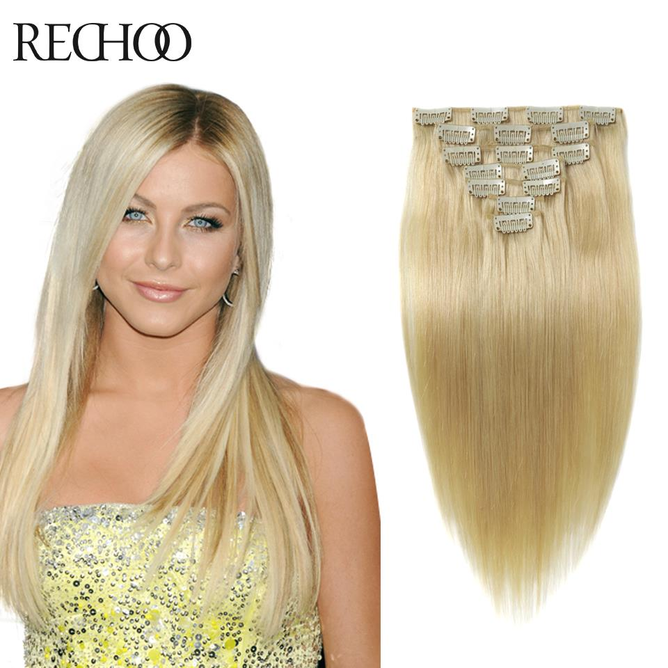 Blonde Clip In Hair Extensions Human Hair Prices Of Remy Hair