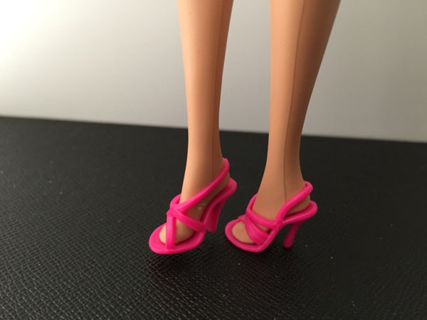 9 totally different types for select Informal flat Excessive heels doll footwear boots for Barbie Doll Vogue Cute Latest BBI00387
