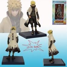 Naruto Yondaime Namikaze Minato the Konoha's Yellow Flash PVC Action Figure Model Collection Toy 6.5″ 16cm