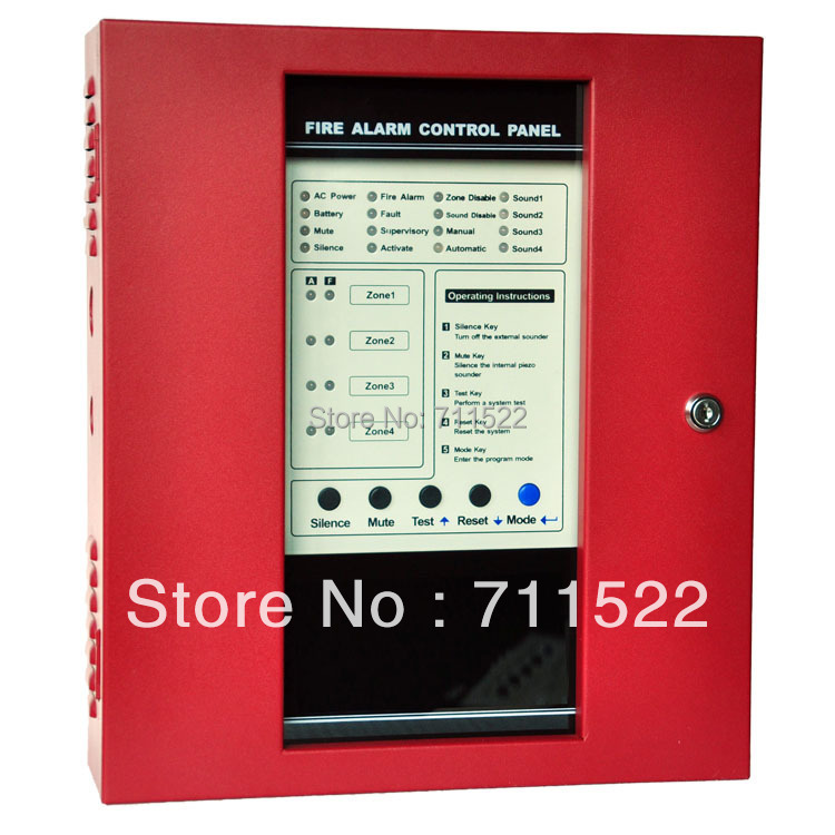 Conventional Fire Alarm Control System Conventional Fire Alarm Control Panel