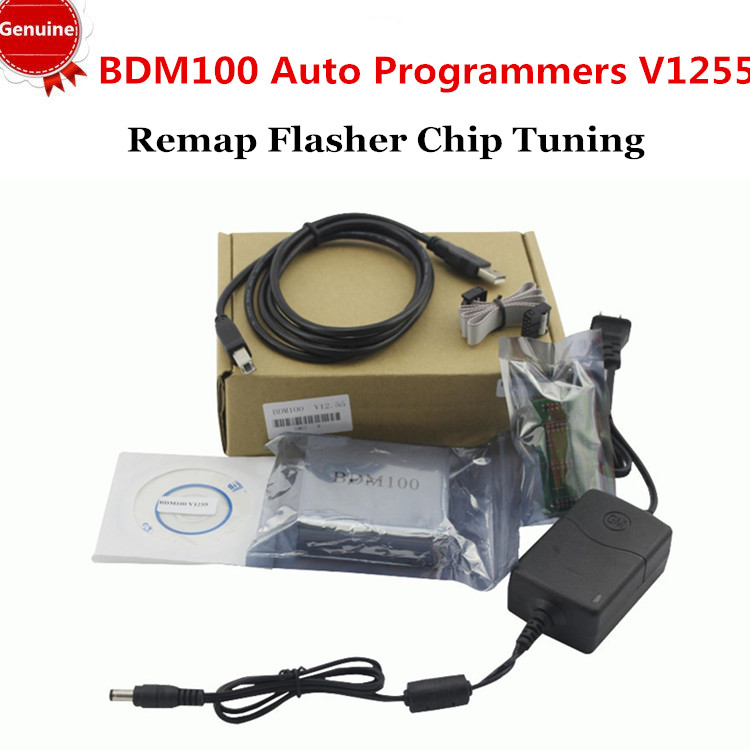 2015 New Arrival 100% Orignial ECU PROGRAMMER bdm 100 tool v1255 BDM100 Auto Programmers bdm100 ECU Remap Flasher Chip Tuning(China (Mainland))