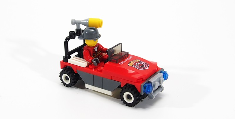 City Police Minifigures Building Blocks Fire Car Military Bricks Engineering vehicles Model Building City Kids Toys