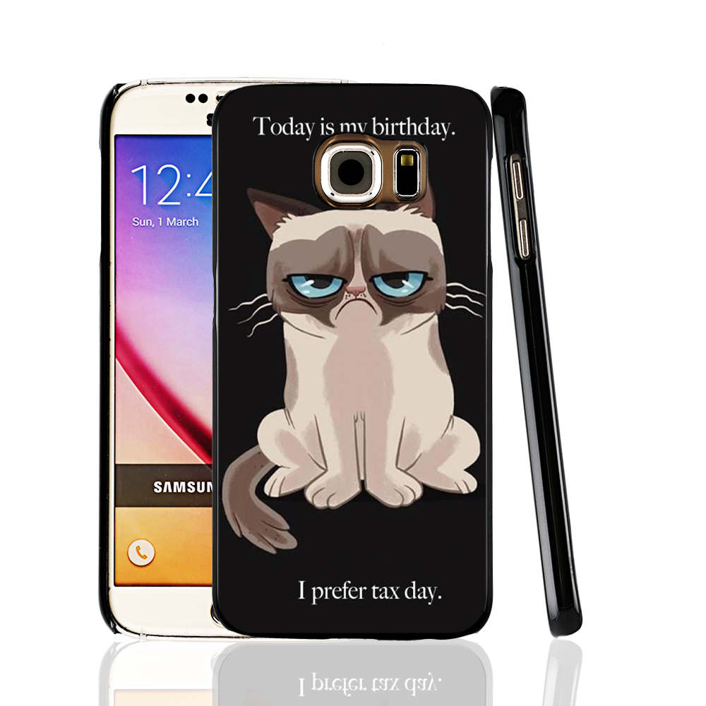 14667 Grumpy Cat Quotes I Had Fun It Was Awful cell phone case cover for Samsung Galaxy A3 A5 A7 A8 A9 2016(China (Mainland))