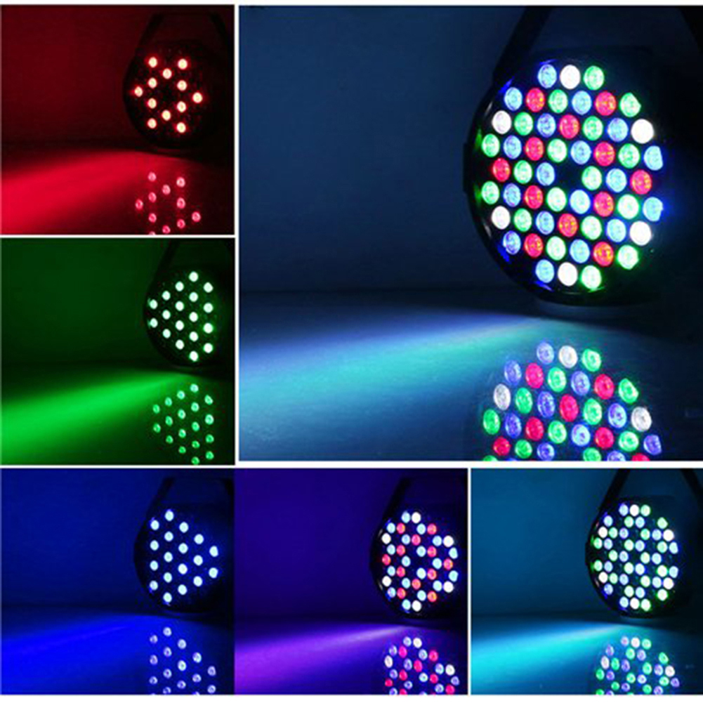 Hot Sale Par Can 54 RGB LED Stage Light Disco DJ Bar Party Effect Disco Lamp Stage Light(China (Mainland))