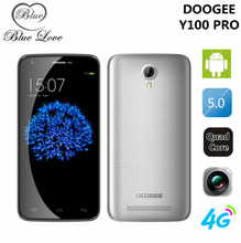 Original Doogee Valencia2 Y100 Pro MTK6735 Quad Core 4G FDD LTE Cell Phone 5.0 Inch HD 2GB RAM 16GB ROM 13.0MP Android 5.1