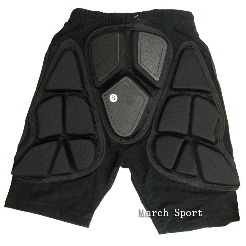 Padded Impact Shorts Hip Butt Protective Gear Crash Guard ...