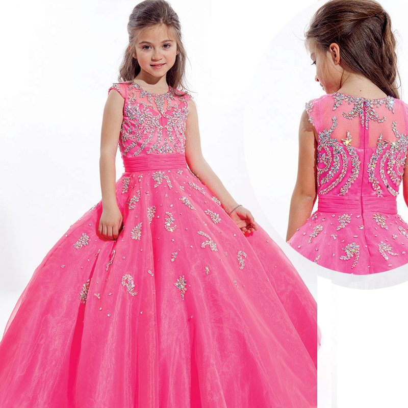 Pink Party Dresses For Kids - Ocodea.com