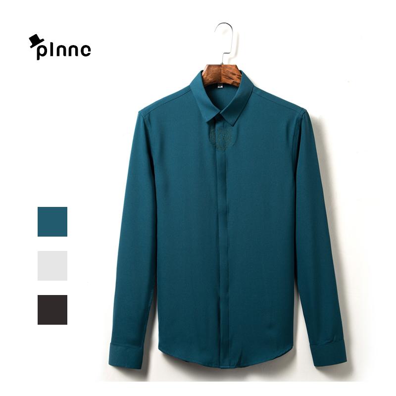 2016 high quality mens dress shirt casual hawaiian long for Good quality mens dress shirts