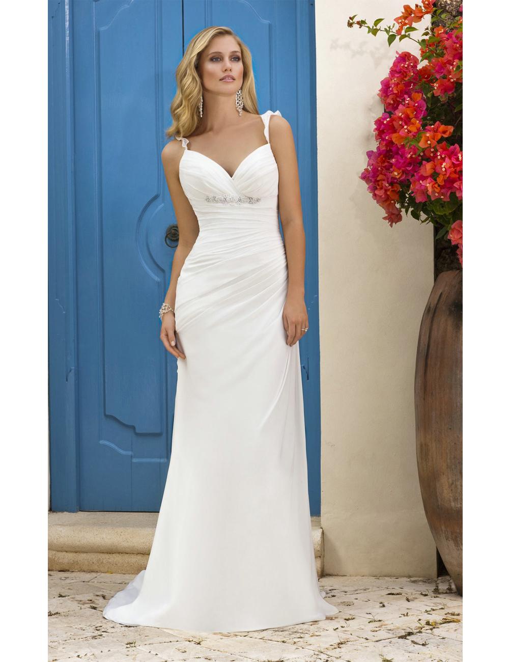 Outstanding Cheap Short White Wedding Dresses Illustration - All ...
