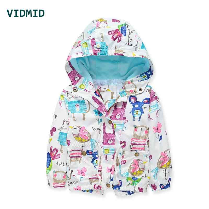 VIDMID baby girls jacket casual hooded outerwear girls coat winter kids clothing children jackets for girls fashion cardigan(China (Mainland))
