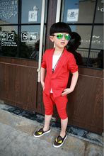 Trendy New Autumn Children suit Boys Candy colors suit outwear Baby Kids Lapel in the Sleeve Coat children's clothing(China (Mainland))