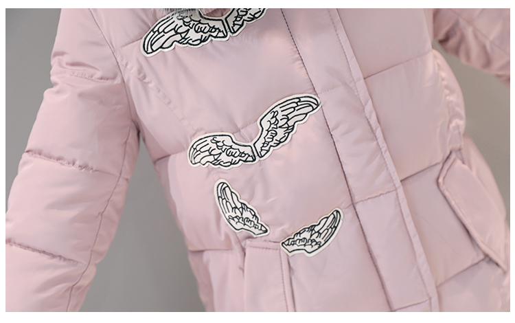 Скидки на М-2XL 2016 Новые женские Зимние Пальто Твердые Средней Длины Куртка С Меховым Капюшоном Куртки Хлопка Тонкий Утолщение Парки Дамы пальто