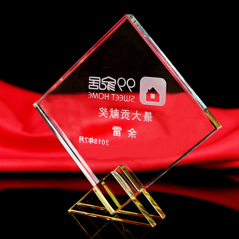 Sports Event Crystal trophies and awards 2 Colors Customized Basketball Football Golf Tennis Champions Cup Trophy Souvenirs(China (Mainland))