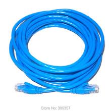 3m cat 6 network cord  support Gigabit ethernet copper material BLUE color RJ45 patch lan cable