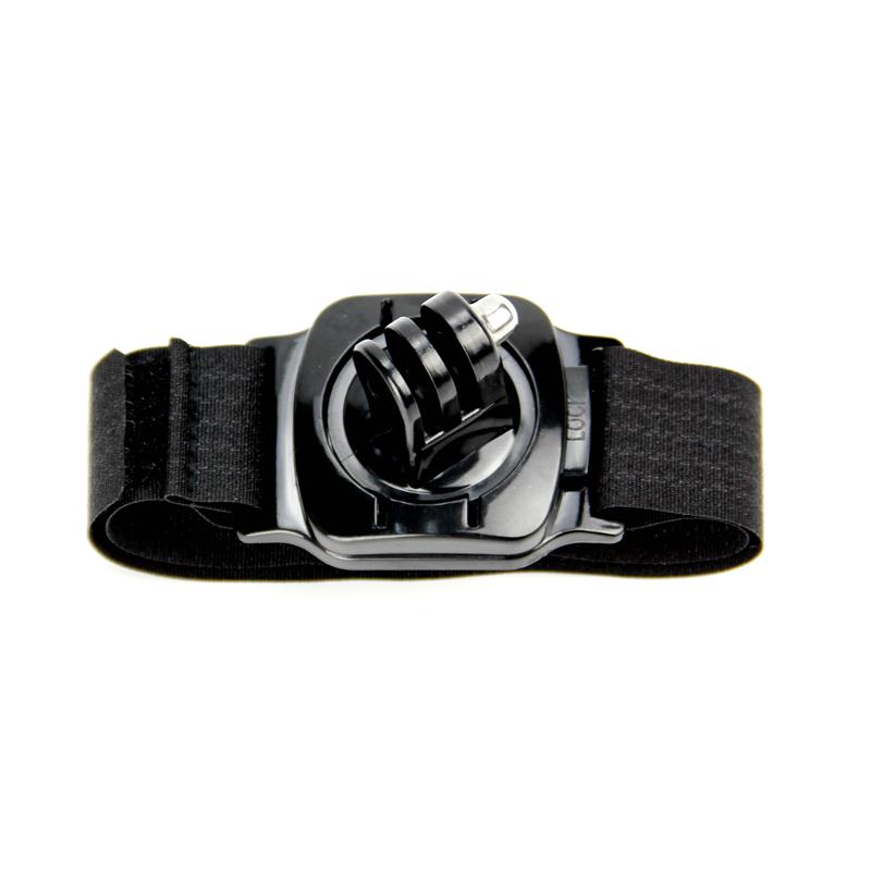 Gopro Accessories 360 Degree Rotation Hand Wrist Strap Band for Gopro Hero 4 3+ Xiaomi Yi SJ4000 sj5000 sj6000 LD09