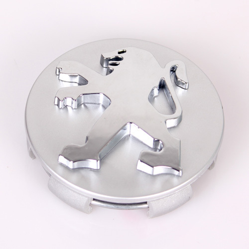 4Pcs/Lot 60mm Alloy Wheel Hub Center Cap Car Wheel Cover Badge Logo Emblem for Peugeot 207 301 307 308 2008 408 508 207 407(China (Mainland))