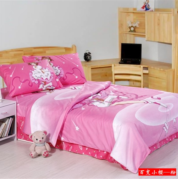 Buy Christmas Girls100 Cotton Cardcaptor Sakura Queen Full Twin Bed Set Bedding Set Kids Quilt