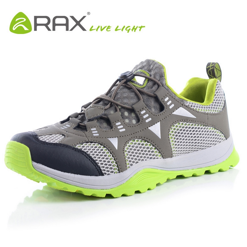 RAX men summer shoes cool hiking shoes breathable mesh men's outdoor hiking shoes lightweight walking fishing shoes A597(China (Mainland))