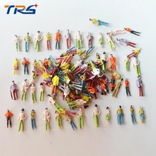 500pcs HO scale model train building people Painted Model Train Passenger People Figures Scale(China (Mainland))