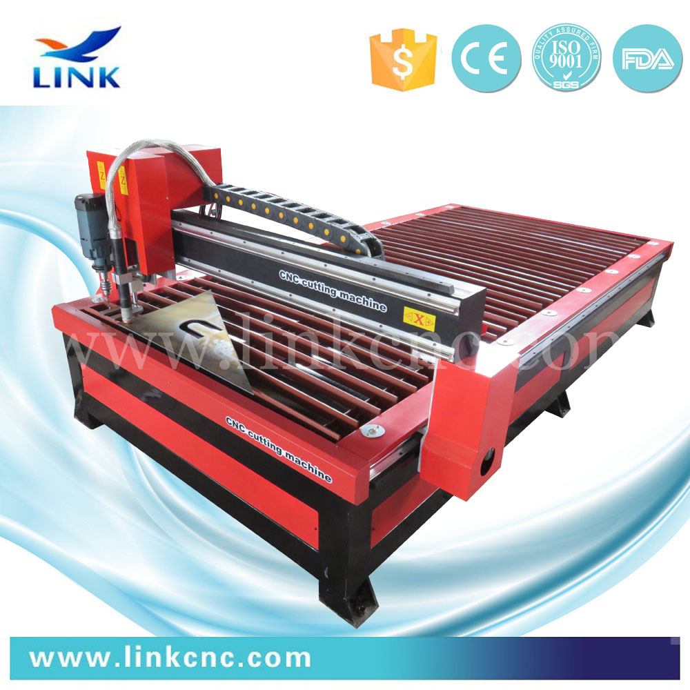 New designed Read and black plasma cutter review / plasma cutting machine with blade table(China (Mainland))