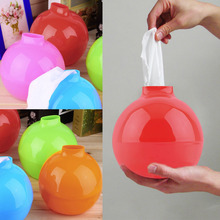 New Round Bomb Shape Tissue Box Holder Paper Pot Home Toilet Car Restaurant(China (Mainland))