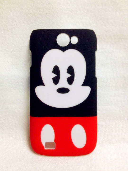 Freeshipping cartoon Mickey mouse back case cover fit for Samsung Galaxy W I8150 Exhibit II 2 4G T679 Plastic(China (Mainland))