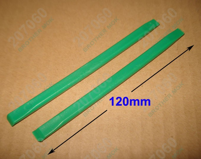 12CM Green Flat head Plastic Pry Tool, Prying tools Crowbar Opening Tools for Tablet PC iPad iPhone 4G 5S Cell phone 500pcs/lot(China (Mainland))