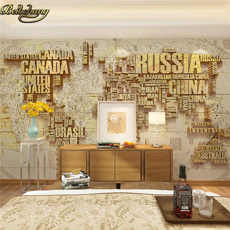 Online get cheap world map d aliexpress alibaba group beibehang personalizado papel de parede 3d mural de la pared mapa del mundo lienzo de fondo gumiabroncs Images