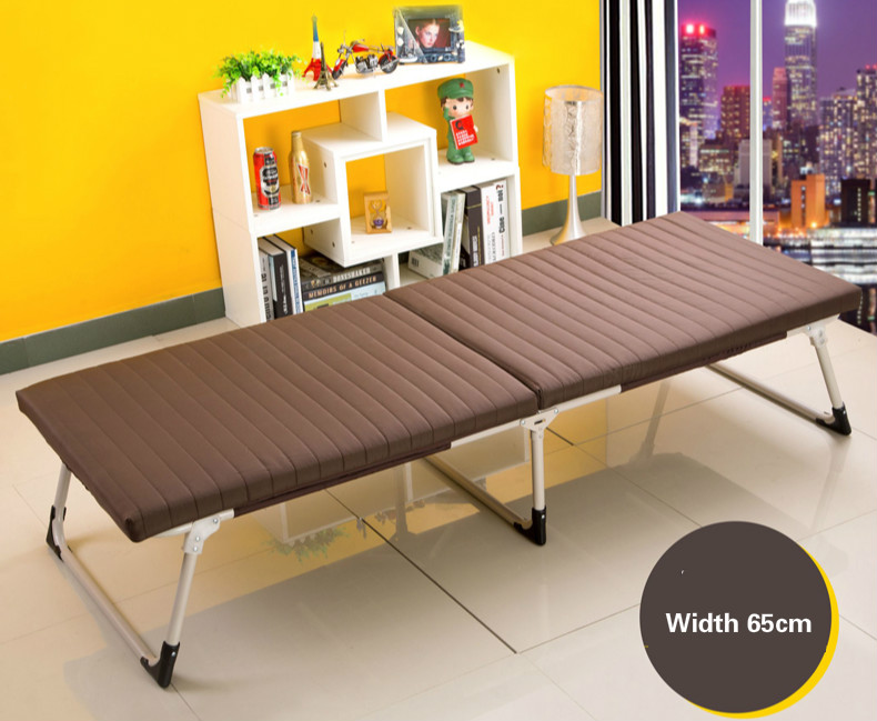 High quality soft comfortable folding single bed sponge simple office nap bed nursing bed