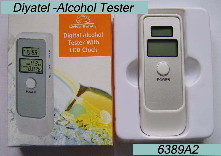 Breath Alcohol Tester breathalyzer Protable tester(China (Mainland))