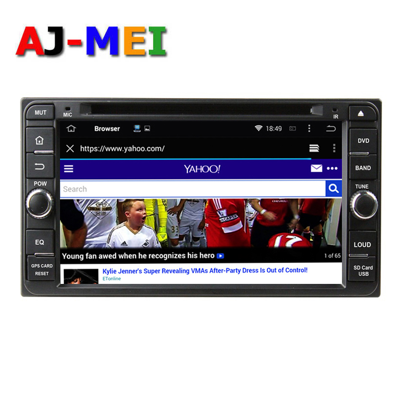 2din Quad Core GPS Radio Pure Android 4.4.4 Car DVD Player for Toyota Corolla 2004 2005 2006 RAV4 Cruiser Vios Avanza Fortuner(China (Mainland))