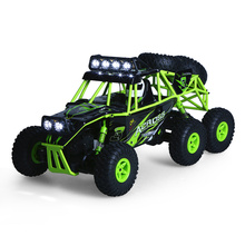 Buy Wltoys Remote Control RC Cars Vehicle 1:18 2.4G 6WD Electric Off-Road Rock Crawler Climbing SUV RC Buggy Car RTR Model Bigfoot for $46.70 in AliExpress store