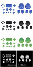 20 sets / lot controller full set buttons for Playstation4 blue black green clear