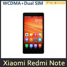 Xiaomi Redmi Note WCDMA Mobile Phone MTK6592 Octa Core Red Rice Note 5.5″inch Dual SIM 2GB RAM 8GB ROM 13MP Android Phone