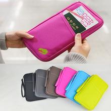 Fashion New Travel Passport Credit ID Card Cash Holder Organizer Wallet Purse Case Bag 63296-63302(China (Mainland))