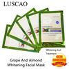 grape almond whitening facial mask - My beauty bar store