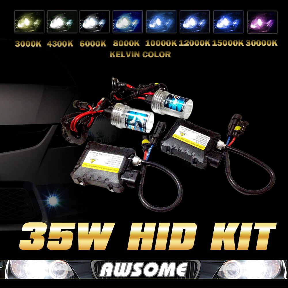6000k H7 35w Xenon HID Replacement Headlight Kit Diamond White Foglight Slim Ballasts Crazy Sale!!! Promotion!!!(China (Mainland))