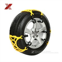 3Pcs/Lot TPU Snow Chains Universal Car Suit 165-265mm Tyre Winter Roadway Safety Tire Chains Snow Climbing Mud Ground Anti Slip(China (Mainland))