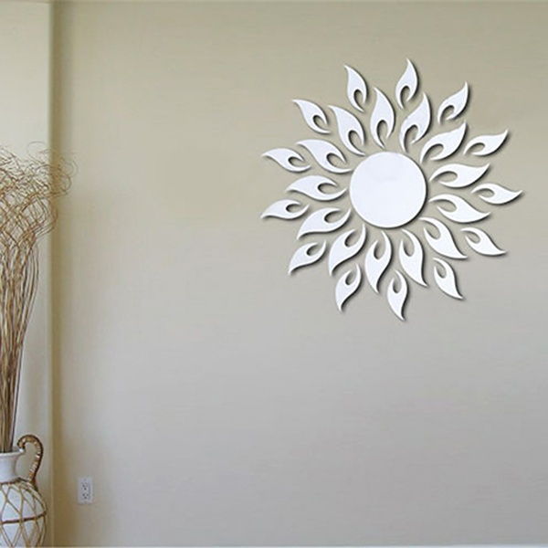 Online get cheap decorative round wall mirrors aliexpress for Cheap designer mirrors
