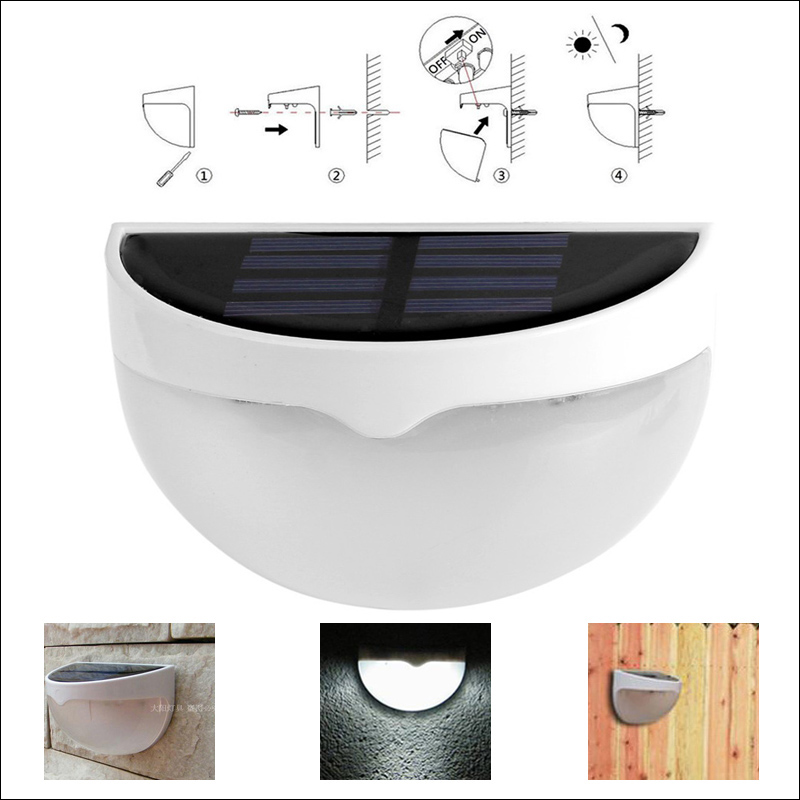 Outdoor Wall Mounted Lights For Sale: 2016 Hot Sale Waterproof Outdoor Solar Light Balcony Lamp
