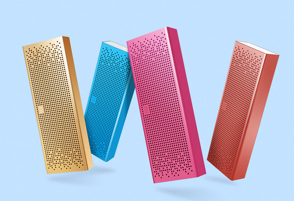 New Arrivals Xiaomi Bluetooth Speaker Wireless Portable Stereo Mini Bluetooth 4.0 Square Box Speakers For Mobile Phone Computer