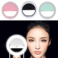 Natural Light Selfie Portable Led Camera Phone Photography Ring Light Enhancing Photography for Smartphone iPhone Samsung