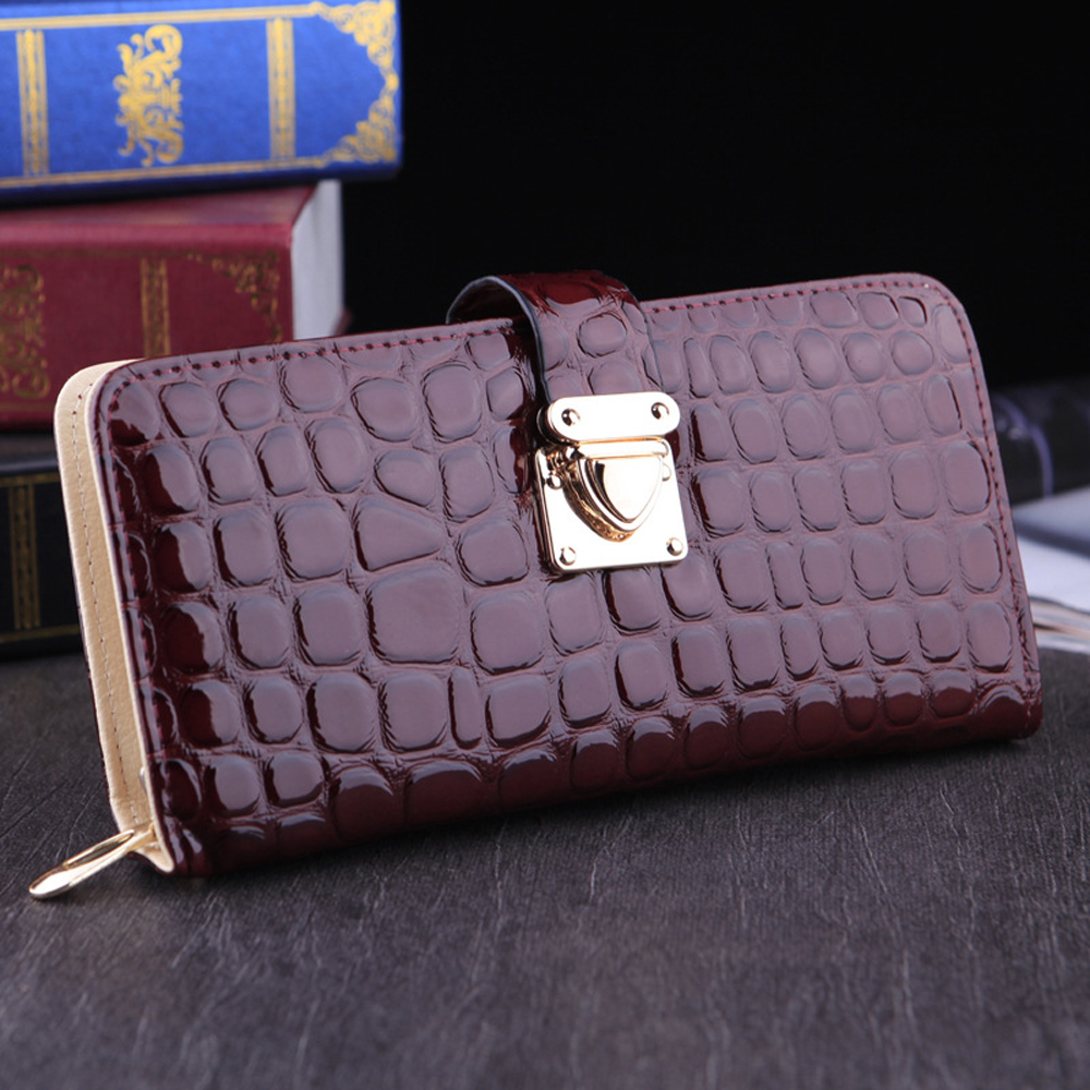 Long Walet Money Cuzdan Pocket Vallet Designer Famous Luxury Brand Leather Women Wallets Lady Female Purse Carteras Clutch Bag(China (Mainland))