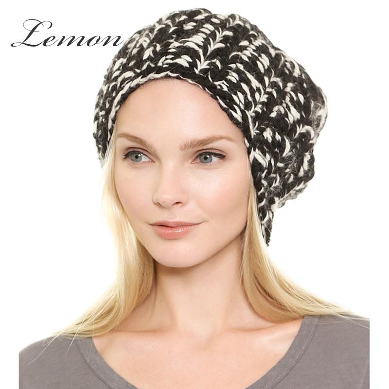 Lemon Women Cap Fashion Casual Streetwear Cap Autumn Winter Warm Cap