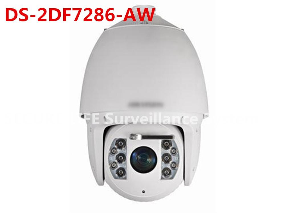 DS-2DF7286-AW English version 2MP IR Ultra-low Temperature 2MP IR Wiper Network Speed Dome ptz camera 30X zoom 150m smart IR(China (Mainland))