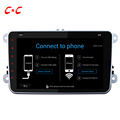 Upgraded Quad Core 1024x600 Android 5 1 1 Car Radio Head Unit for VW Passat B6